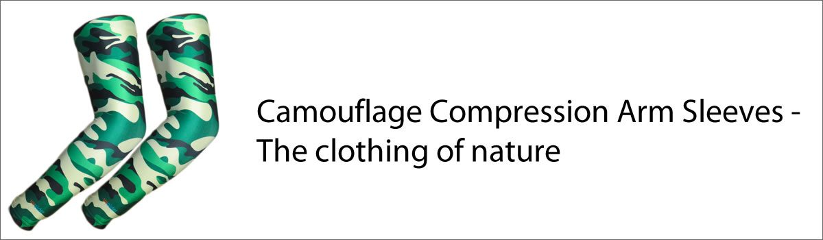 Camouflage Compression Arm Sleeves – The clothing of nature
