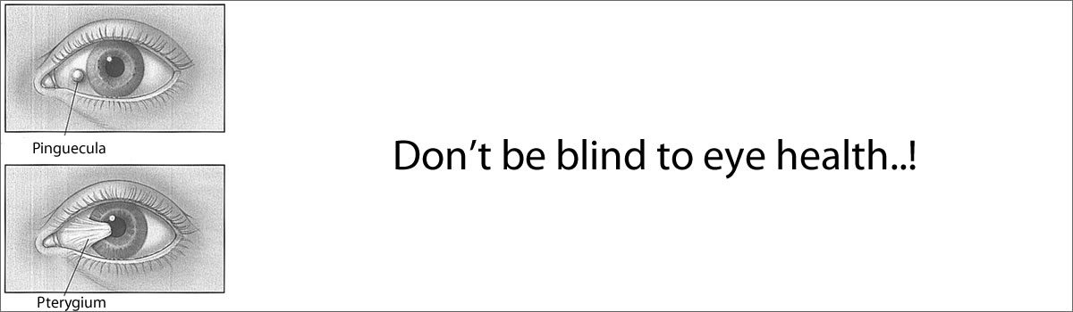 Don't be blind to eye health..!