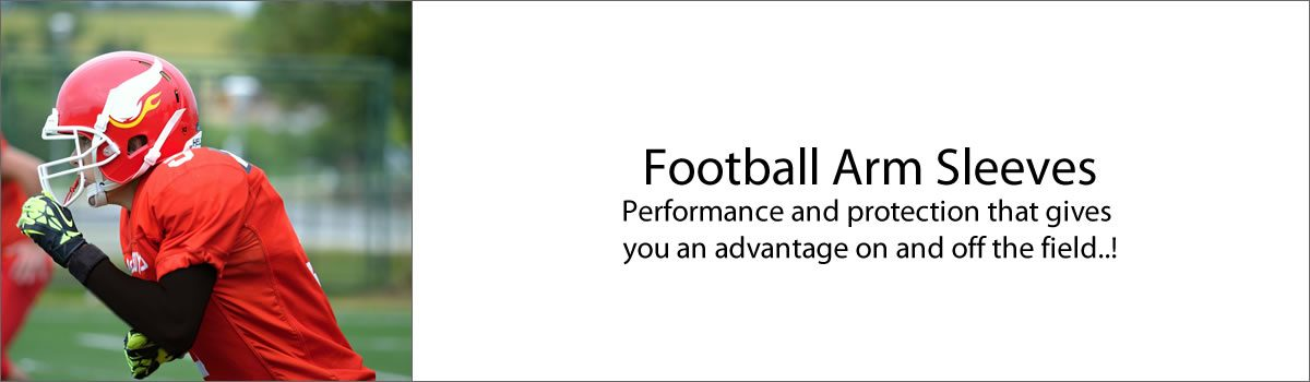 Football Arm Sleeves – Performance and protection that gives you an advantage on and off the field..!