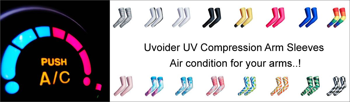 Uvoider Cooling Sleeves – Air condition for your arms..!