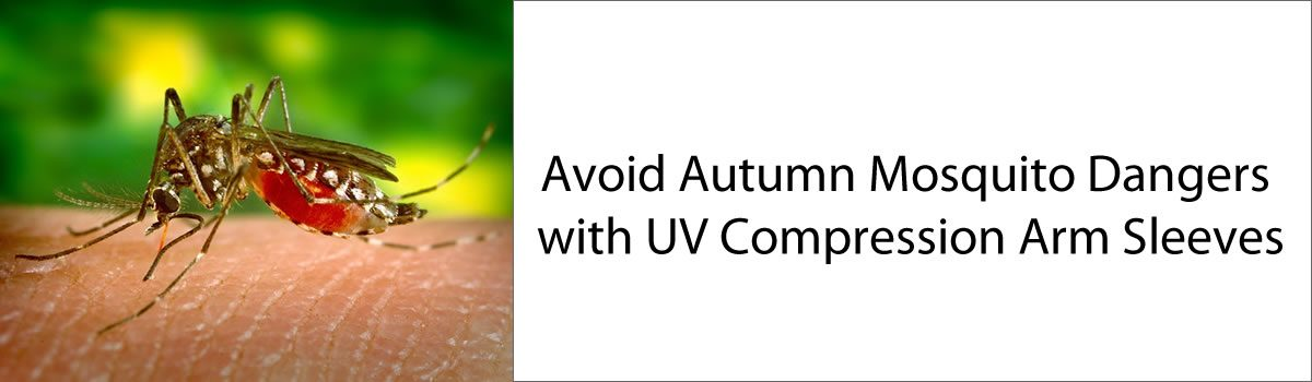 Avoid Autumn Mosquito Dangers with UV Compression Arm Sleeves