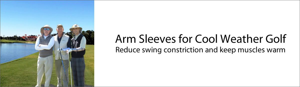 Arm Sleeves for Cool Weather Golf