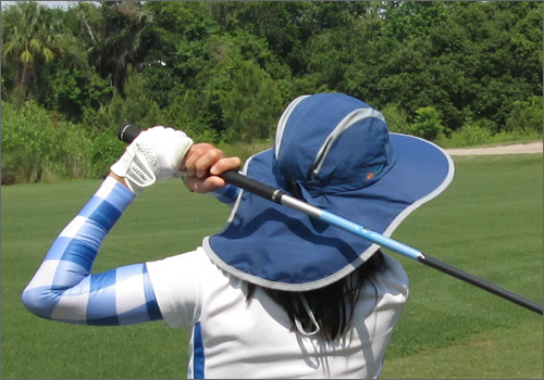 Women's Golf Sleeves – Swing Better, Protect Skin, Feel and Look Cool