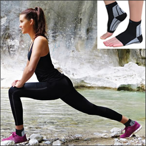 Treating Plantar Faciitus with Compression Foot Sleeves