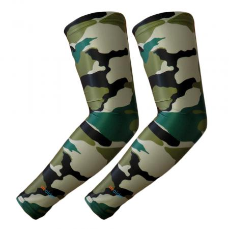 UV Arm Sleeves 207 Army Camouflage