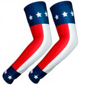UV Arm Sleeves 227 Stars and Stripes