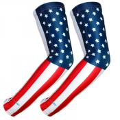 UV Arm Sleeves 228 USA Flag 1