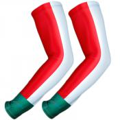 UV Arm Sleeves 238 Red/White/Green