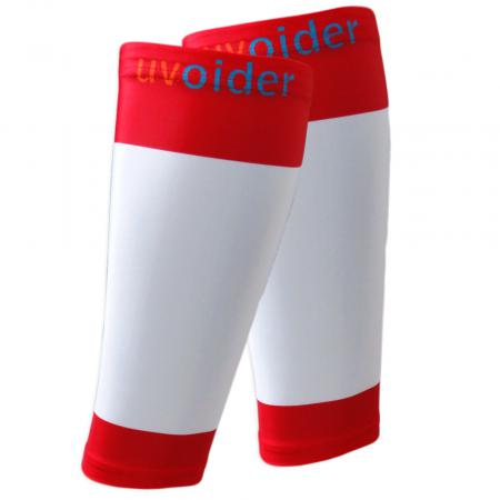 UV Calf Sleeves 408 Red/White