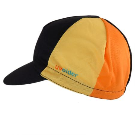 UV Cycling Cap 308 Safety Yellow/Orange