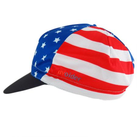 UV Cycling Cap 310 USA Flag