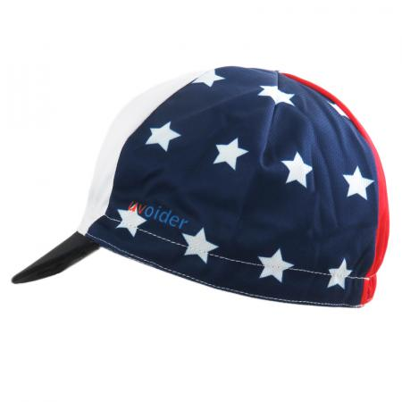 UV Cycling Cap 319 Stars and Stripes