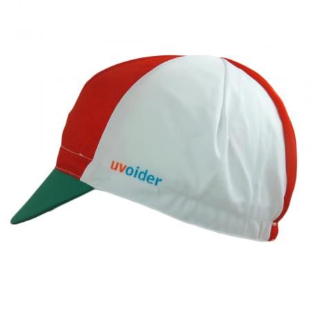UV Cycling Cap 326 Red/White/Green