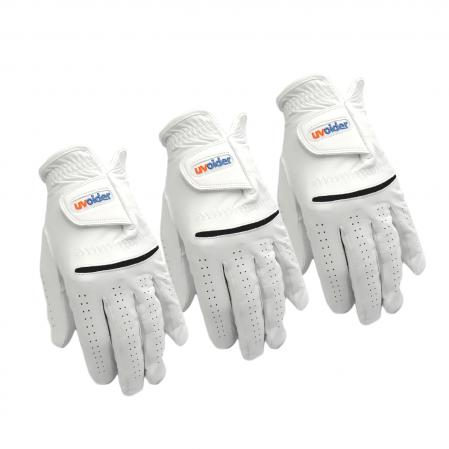 Uvoider Premium Cabretta Leather Golf Glove - Ladies 3-Glove Value Pack