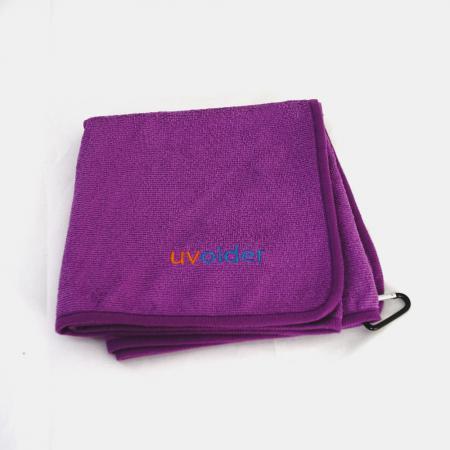 Performance Golf Towel 4 Purple