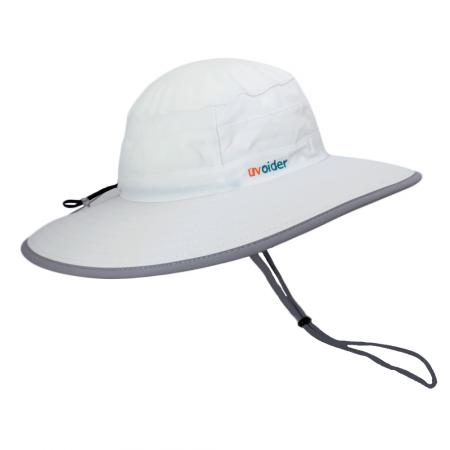 UV All-Purpose Bucket Hat 1001 White/Silver Grey