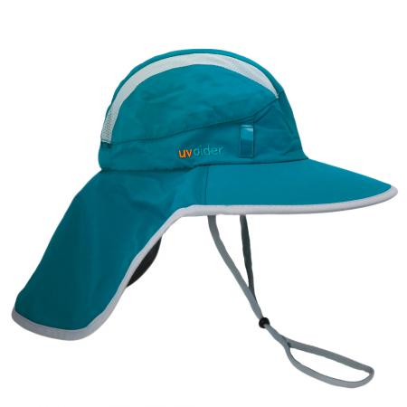 UV Explorer Hat 2004 Bluish Teal/Silver Grey