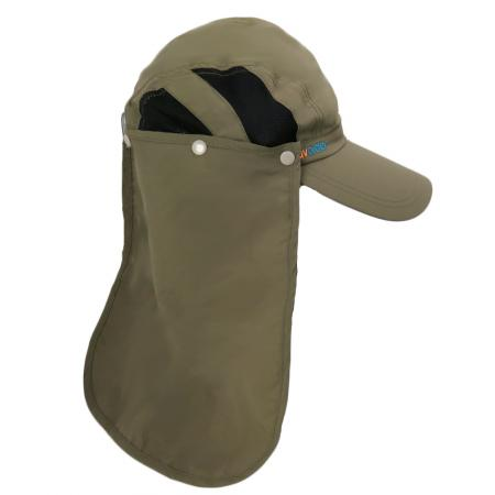 UV Trekker Cap 3002 Brown Olive