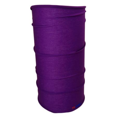 UV Full Headwear 24 Purple