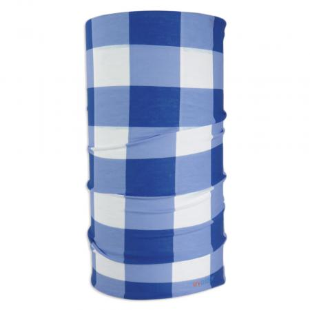 UV Full Headwear 29 Blue Gingham