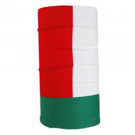 UV Full Headwear 35 Red/White/Green