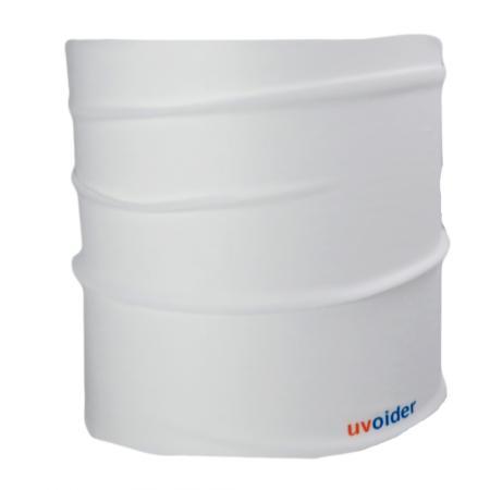 UV Half Headwear 107 White