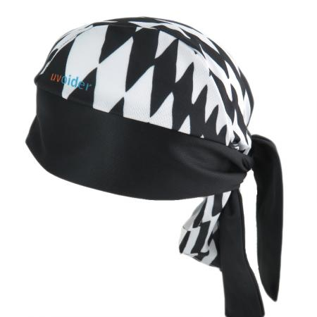 UV Bandana Skull Cap 303 Checkerboard