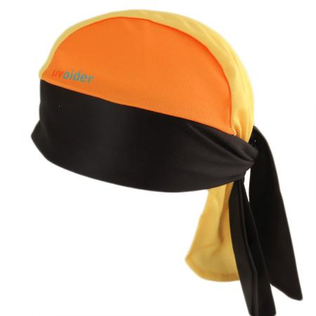 UV Bandana Skull Cap 308 Safety Yellow/Orange