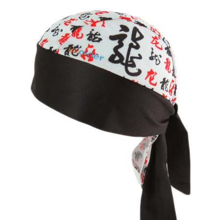 UV Bandana Skull Cap 309 Chinese Calligraphy - Dragon
