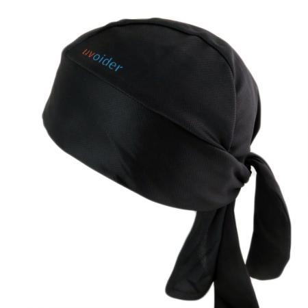 UV Bandana Skull Cap 312 Black
