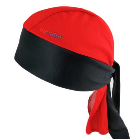 UV Bandana Skull Cap 315 Red