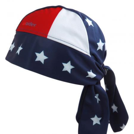UV Bandana Skull Cap 319 Stars and Stripes