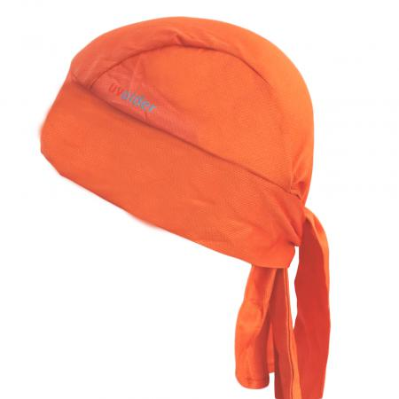 UV Bandana Skull Cap 328 Orange