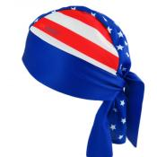 UV Bandana Skull Cap 310 USA Flag