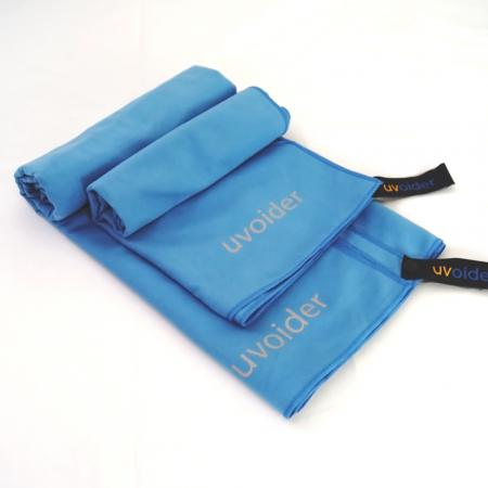 Sports and Travel Towel Set 1 Malibu Blue - Sizes M and L