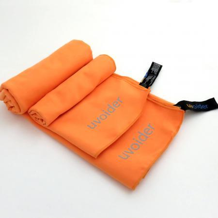 Sports and Travel Towel Set 3 Orange