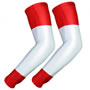 UV Arm Sleeves 226 Red/White