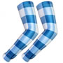 UV Arm Sleeves 230 Blue Gingham