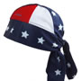 UV Bandana Skull Cap 319 Stars and Stripes