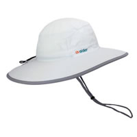 UV Bucket Hat 1001 White/Silver Grey