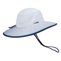 UV Bucket Hat 1002 White/Navy