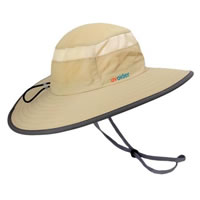 UV Bucket Hat 1003 Tan/Dark Grey