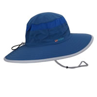 UV Bucket Hat 1004 Flag Blue/Silver Grey