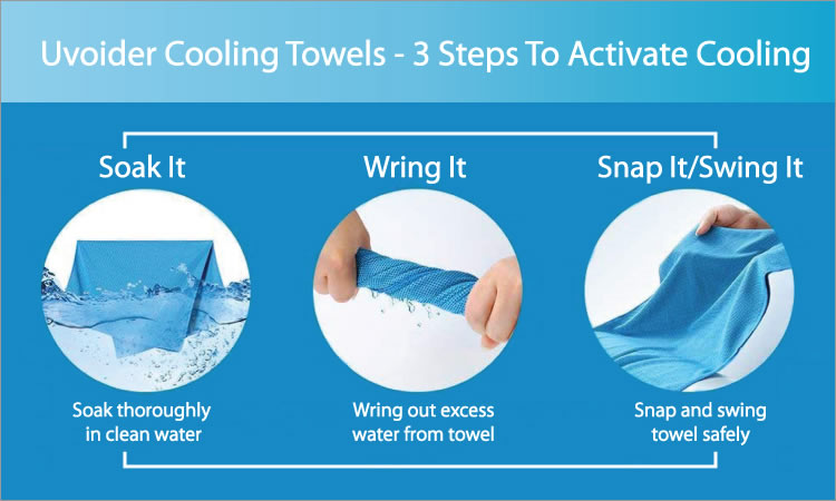 How Instant Cooling Towels Work