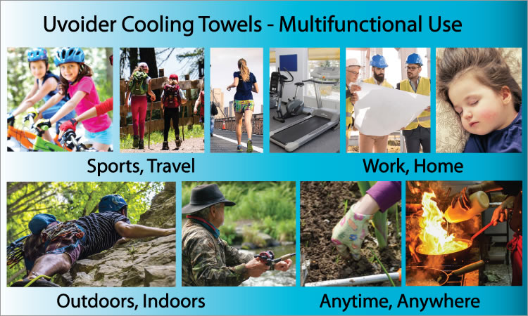 Instant Cooling Towel Uses