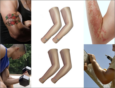 Skin Tone Arm Sleeves - Ten reasons to wear the skin tone color