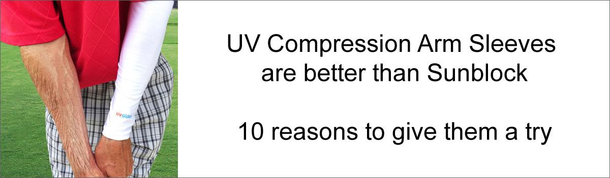 UV Compression Arm Sleeves