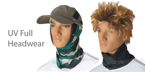 UV Full Headwear