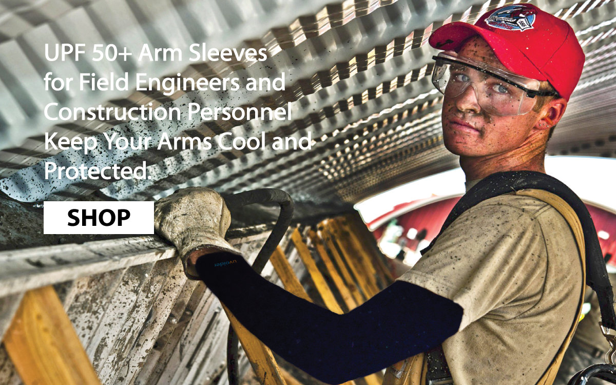 UPF 50+ Arm Sleeves for Field Workers