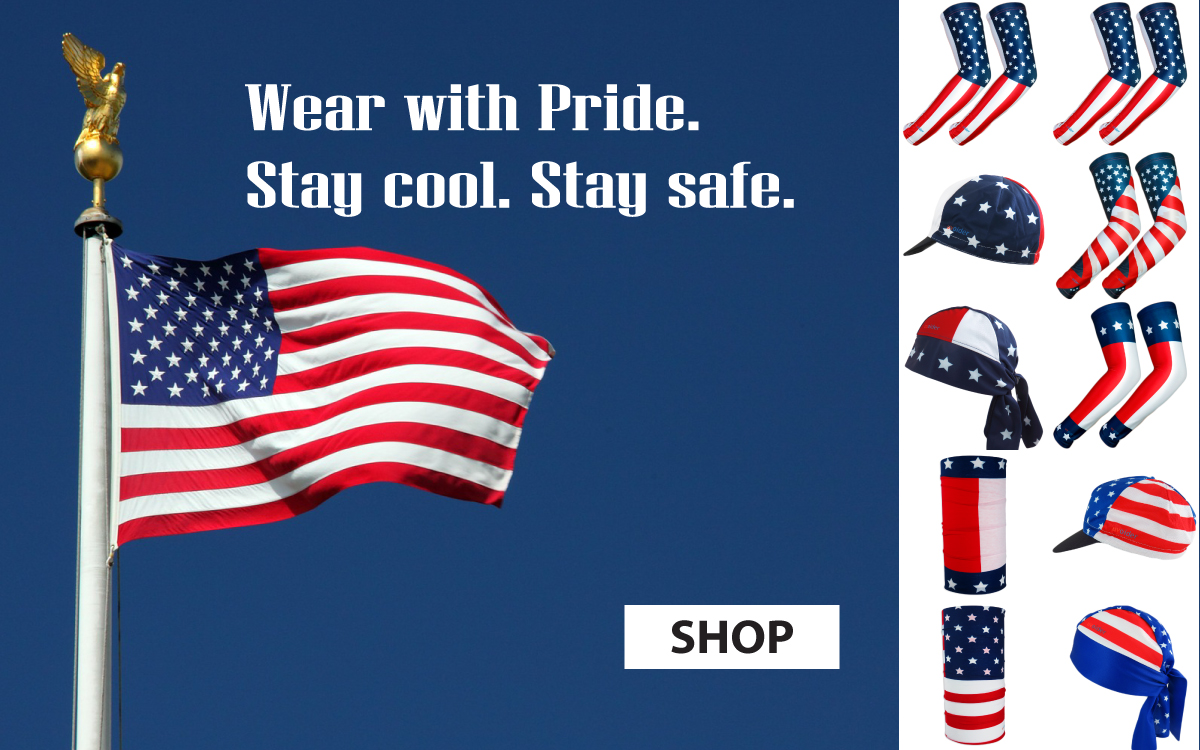 Wear with Pride - USA Flag designs